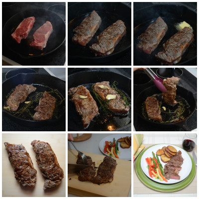 steak cooking steps