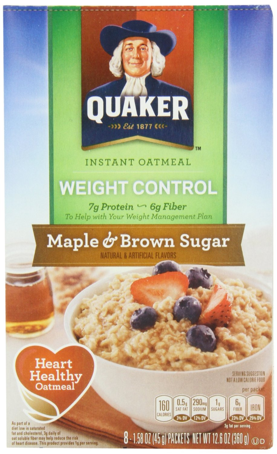 foodlabelfriday: instant oatmeal - eat well with ginaeat well with gina