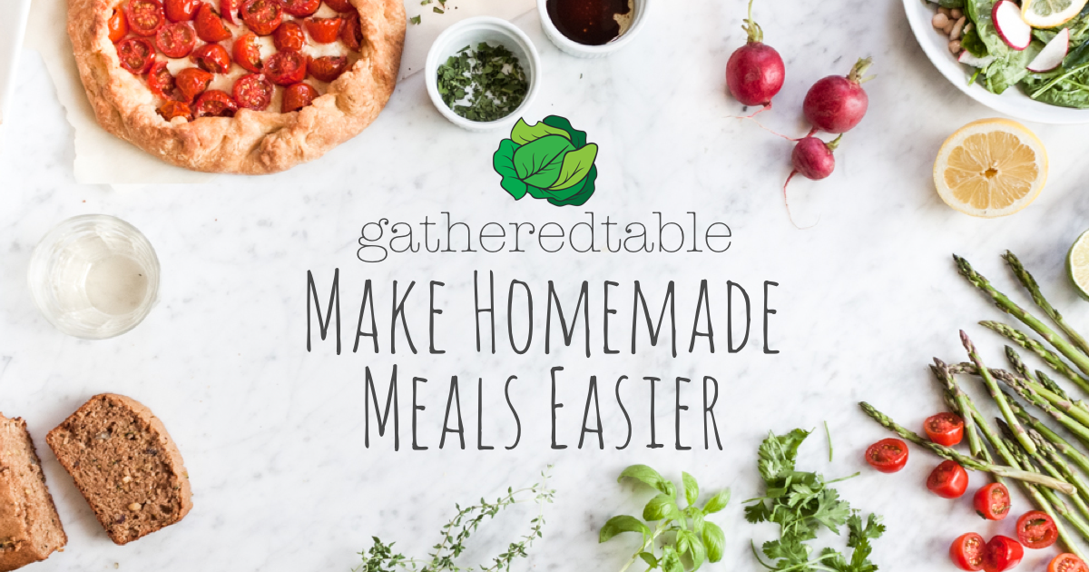 Homemade Meals Made Easier