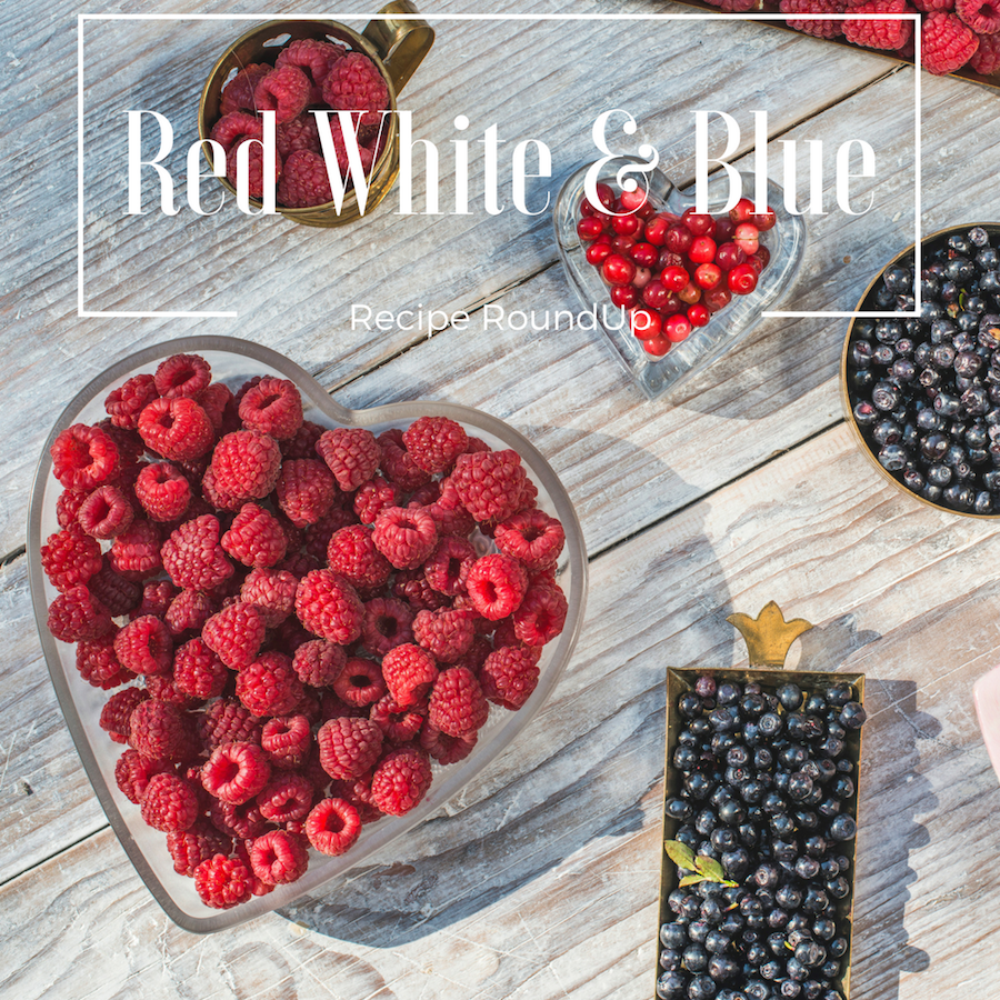 Red White And Blue Recipe Roundup Eat Well With Ginaeat